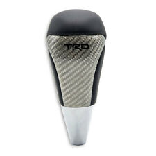 TOYOTA TRD GEAR SHIFT KNOB BLACK LEATHER FOR HILUX REVO FORTUNER AUTO