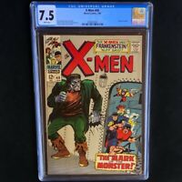 Uncanny X-Men #40 💥 CGC 7.5 💥 Origin of Cyclops! Frankenstein Cvr Marvel 1968