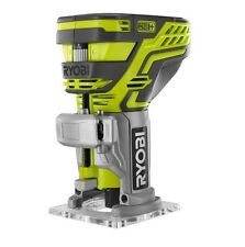 "RYOBI 18V ONE+ 6.35mm 1/4"" PALM ROUTER-Skin Only"