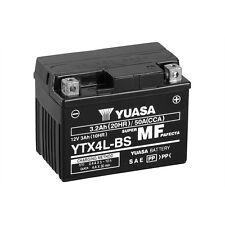 Batterie Moto Yuasa YTX4L-BS  12V3.2AH 50A 114X71X86MM SANS ENTRETIEN