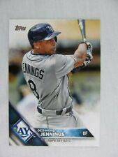 Desmond Jennings Tampa Bay Rays 2016 Topps Baseball Card 618