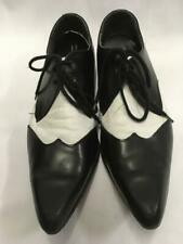 1920s 1930s Gangster Correspondence Shoes Black White size 11A Brogue ex hire