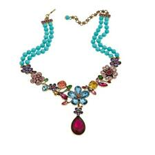"""Heidi Daus """"Garden Glamour"""" Beaded Crystal Drop Necklace HSN SOLD OUT $400"""