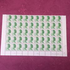 Timbres France feuille N° 2219 Liberté de Delacroix x 50 de 1982  N**/MNH SHEET