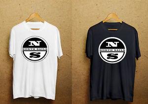 North Sails Black/White T-shirt Size S - 3 XL dw2