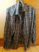 Wrangler Men's shirt long sleeves size Large