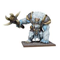 Unboxed Mantic Kings of War Snow Troll Prime Northern Alliance yhettee vanguard