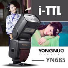 YONGNUO YN685 Wireless 2.4G HSS TTL/iTTL Flash Speedlite For Canon DSLR Camera
