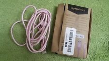 Nylon Braided Lightning to USB A Cable - MFi Certified iPhone Charger - Rose Gol