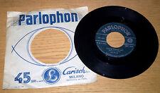 """BEATLES Please Please Me/Ask Me Why 45 giri 7"""" in Italia Parlophon QMSP 16346"""