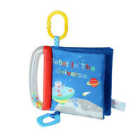 Cloth Book Infant Book with Teether Rings Rattles Baby Early Education Toy S