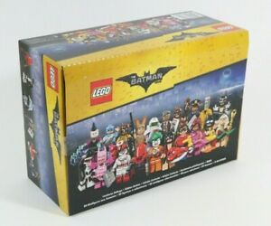 NEW SEALED LEGO BATMAN MOVIE 71017 BOX OF 60 MINIFIGURE SERIES PACKETS - BNIB