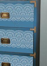 Border STENCIL Lace Reusable Vintage Wedding Cake Furniture Painting Wall LA51