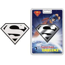 3D Chrome Emblem - Car Truck SUV Home Office - DC Comics - Superman - Shield