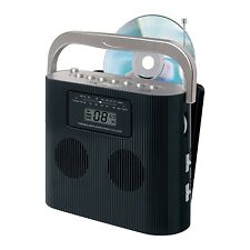 JENSEN PORTABLE STEREO COMPACT DISC CD PLAYER with AM/FM RADIO CD-470BK NEW