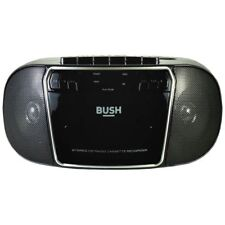 Bush KBB500 CD Radio Cassette Player Boombox - Black & Silver - RRP £29.99!