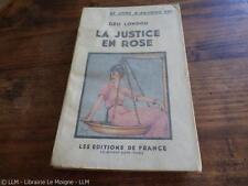 1937.La justice en rose.Geo London