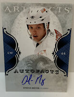 2011-12 Upper Deck - Stefan Meyer - Autofacts Autograph Flames - NHL Hockey Card