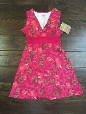 Patagonia Women's Margot Dress Craft Pink Floral Organic Cotton S