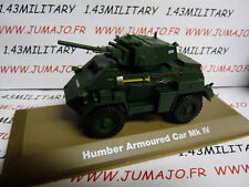 VOITURE 1/43 Militaire Atlas : HUMBER Armoured car Mk IV UK