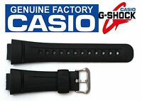CASIO G-2900 G-Shock 16mm Original Black Rubber Watch BAND Strap G-2900F