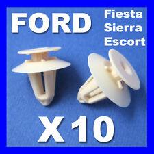 FORD FIESTA ESCORT SIERRA INTERIOR TRIM PANEL RETAINER CLIPS Door cards fascias