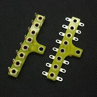 8-Pin FR4 Tag Strip Turret Terminal Lug Board FOR HIFI Vintage Guitar AMP DIY*4