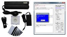 Banda magnetica Card Reader Writer MAG tessera magnetica ENCODER MSR206 MSR606 MSR605