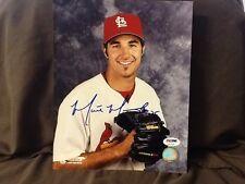 Matt Morris 8 X 10 AUTOGRAPHED PHOTO, St. Louis Cardinals PSA/DNA