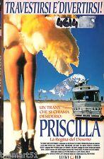 Priscilla. La regina del deserto (1994) VHS 1a Ed.