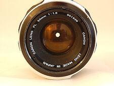 Canon schweres Objektiv FL 1.8 50 #851936 Made in Japan