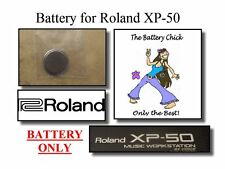 Battery for Roland XP-50 Music Workstation - Internal Memory Replacement Battery