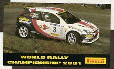 Pirelli World Rally Championship 2001 Ford Original período Etiqueta Autocollant