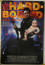 HARD-BOILED ROLLED ORIG 1SH MOVIE POSTER CHOW YUN-FAT TONY LEUNG ACTION (1992)