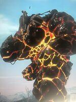 Ark Survival Evolved Xbox One Pve Black Obsidian GOLEM Clone W/ Saddle