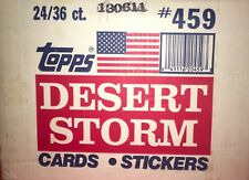 1991 TOPPS DESERT STORM ~COALITION FOR PEACE~ 24 BOX WAX CASE TRADING CARDS
