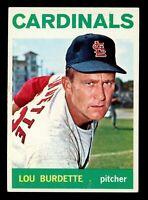 1964 Topps Baseball #523 Lew Burdette St. Louis Cardinals - SBID004