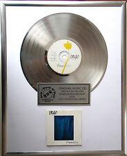 """UB40 Promises and Lies  CD/Cover gerahmt + 12"""" Deko goldene Vinyl Schallplatte"""