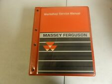 Massey Ferguson 4200 4300 Tractor Workshop Repair Service Manual 1449494M4