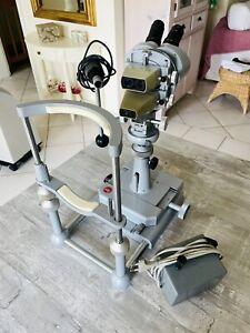 LEITZ Irismikroskop Irisdiagnostik Gerät mit Lampe Sehr guter Zustand