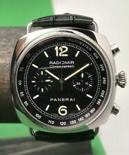 Panerai Radiormir Chronograph 45mm Swiss Automatic Pam 288 Pam00288 3 OEM Straps
