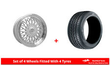 "Alloy Wheels & Tyres 18"" Dare DR-RS For Audi TT Mk1 [8N] 98-06"