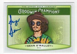 "SEAN ""SUGAR"" O'MALLEY Signed Autograph Upper Deck Goodwin Champions Card UFC #93"