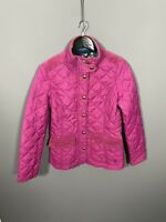 JOULES MOREDALE QUILTED Jacket - Size UK10 - Pink - Great Condition - Women's