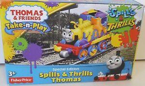 Thomas Take-n-Play Special Edition Spills/Thrills Thomas (Last 5) (reduced)