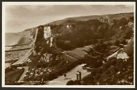 Sussex. Eastbourne - Holywell Retreat - Vintage Real Photo Postcard