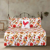 Twin Full Queen or King Quilt Sunflower Bedspread Bedding Set Floral Yellow