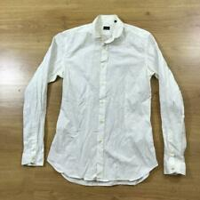 "Paul Smith Small Slim Fit Cotton Smart White Long Sleeved Shirt 38"" Chest"