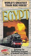 World's Greatest TRAIN Ride Videos EGYPT VHS Cities Travel & More Soft Cover
