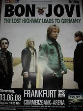 Bon Jovi 119cmA0 Frankfurt 2008 Tour Konzert Plakat Concert Original Poster